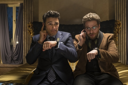 "James Franco et Seth Rogen, acteurs principaux dans ""The Interview"""