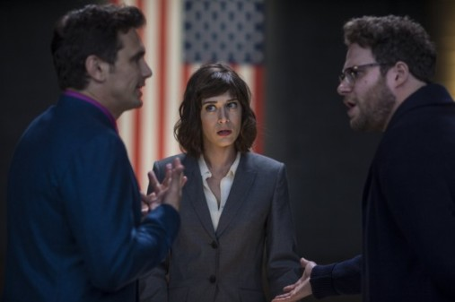 the-interview-lizzy-caplan-james-franco-seth-rogen-600x399