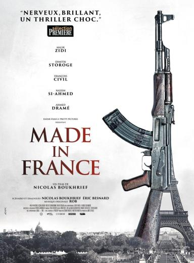 """Affiche de """"Made in France"""", film qui devait sortir le 18 novembre"""