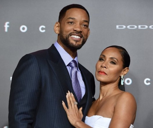 Will Smith en compagnie de son épouse, la productrice Jada Pinkett Smith