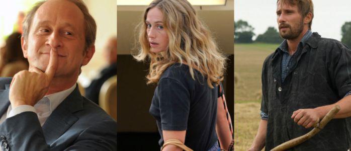 Benoit Poelvoorde, Cécile De France et Matthias Schoenaerts, trois acteurs belges confirmés
