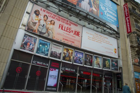 Salles de cinema Paris fermees